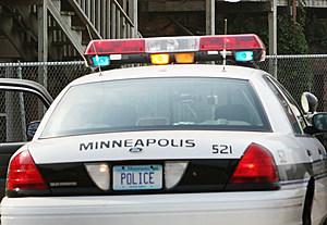 Minneapolis Police Car