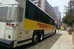 Rochester City Lines bus