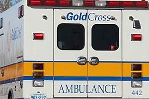 Gold Cross ambulance
