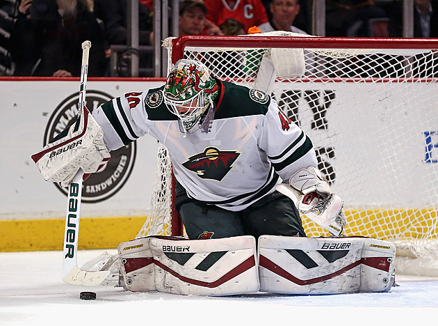 Devan Dubnyk #40 of the Minnesota Wild-Getty Images