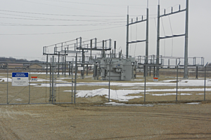 RPU Westside Substation-photo by Kim David/Townsquare Media