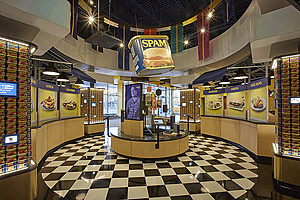 Can Central CU/ SPAM Museum-photo from Hormel Foods