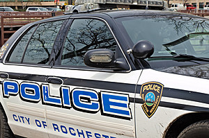 Rochester Police Squad Car