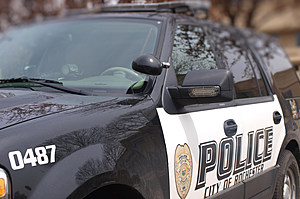 Rochester Police SUV