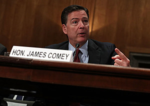 Jeh Johnson And James Comey Testify At Hearing On Threats To The Homeland