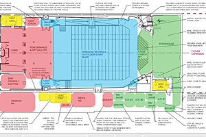 option E plan for Chateau Theater
