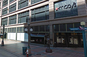 downtown Minneapolis Macy's store-Google street view