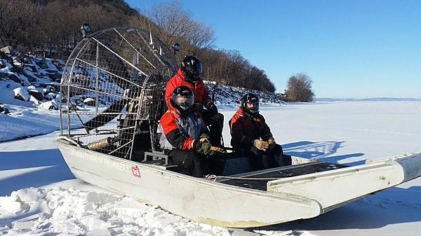 Lake Pepin ice measurements