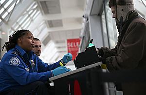 TTSA Officials check IDs