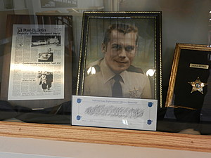 Jack Werner exhibit at Olmsted County Law Enforcement Center /Kim David, Townsquare Media