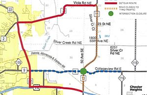 Olmsted County road project