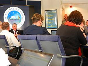 RCVB Ex Dir. Brad Jones at City Council meeting -Kim David,Townsquare Media