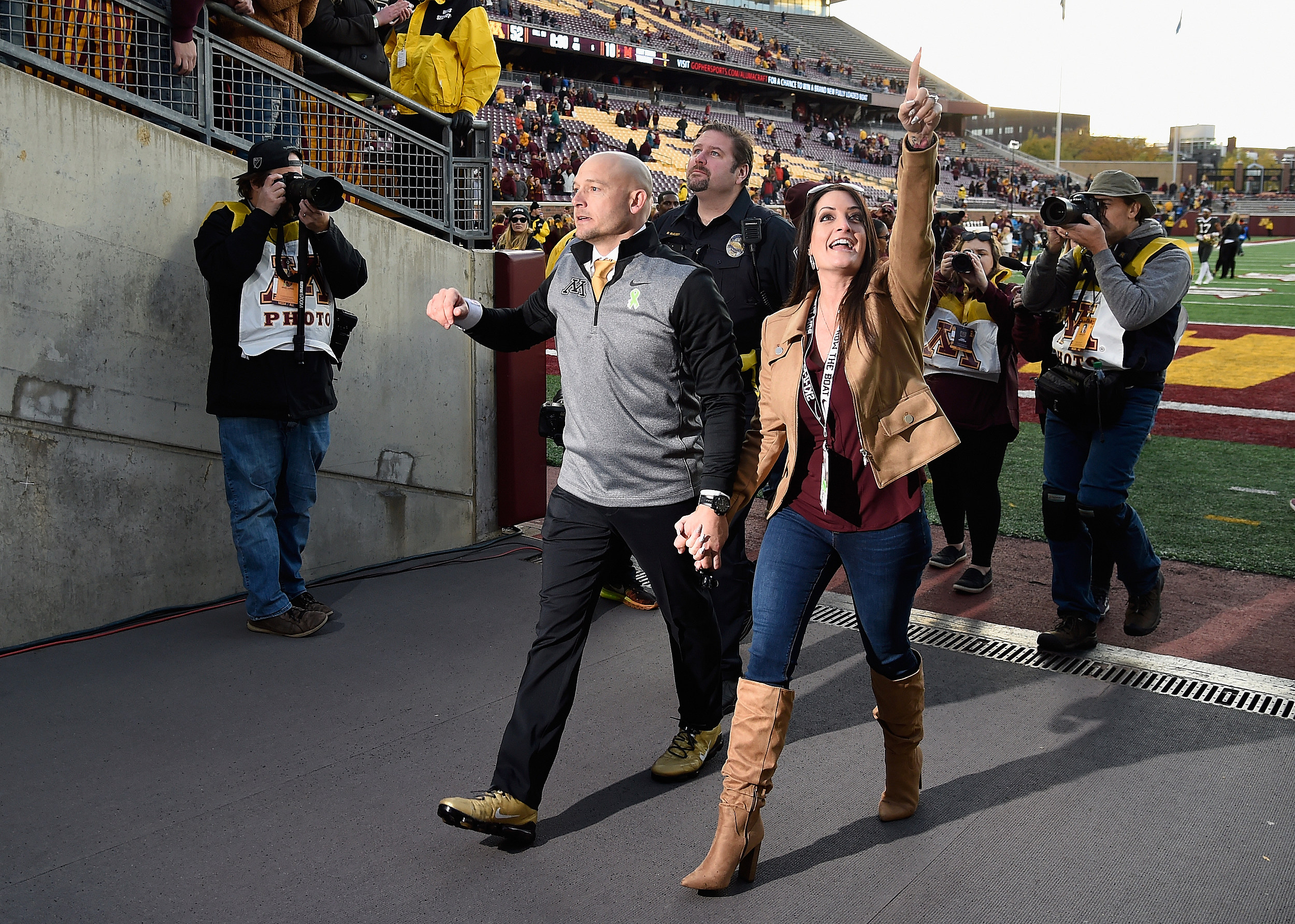 Gophers Stay Perfect With Another Blowout Victory
