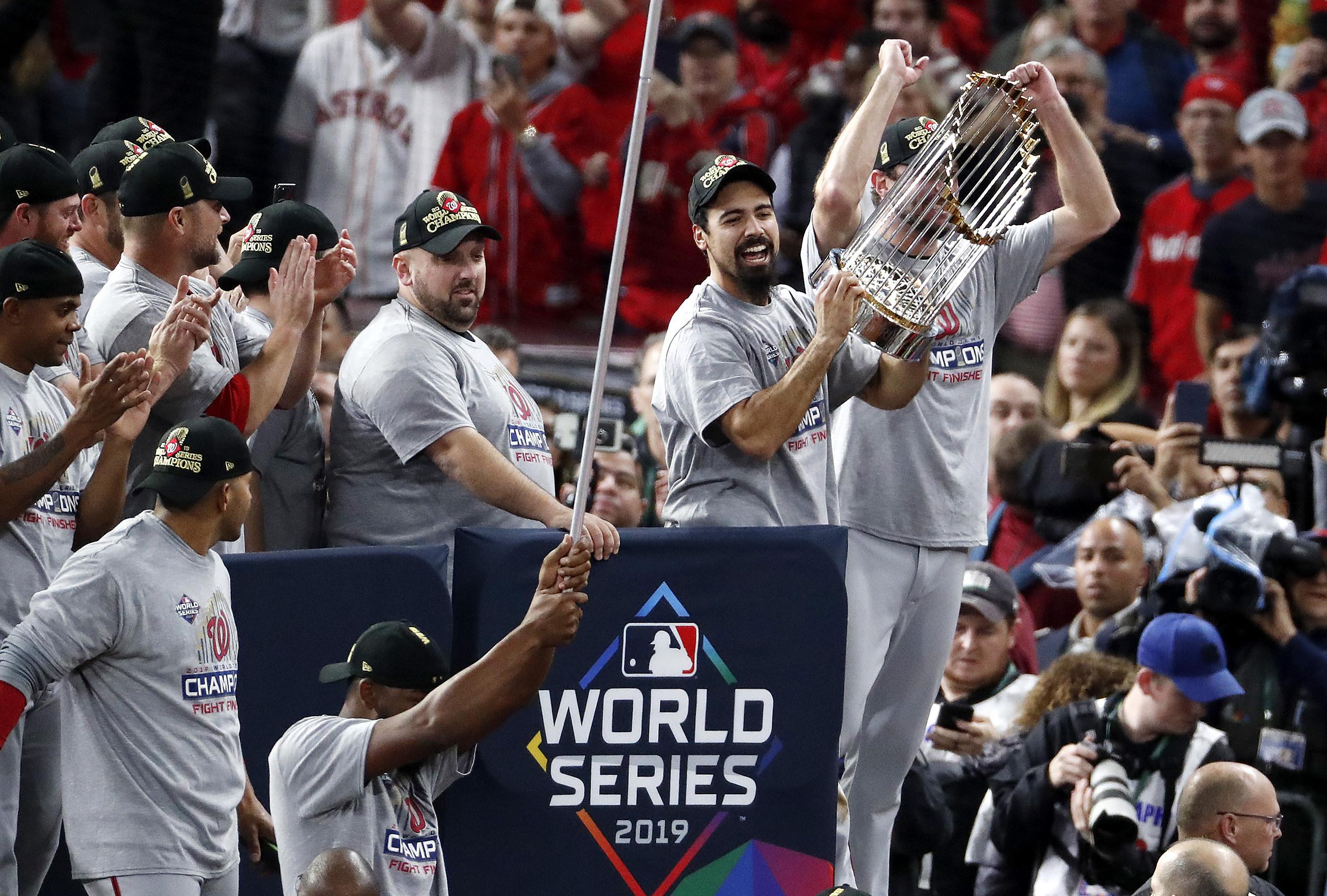 Washington Rallies to Win World Series
