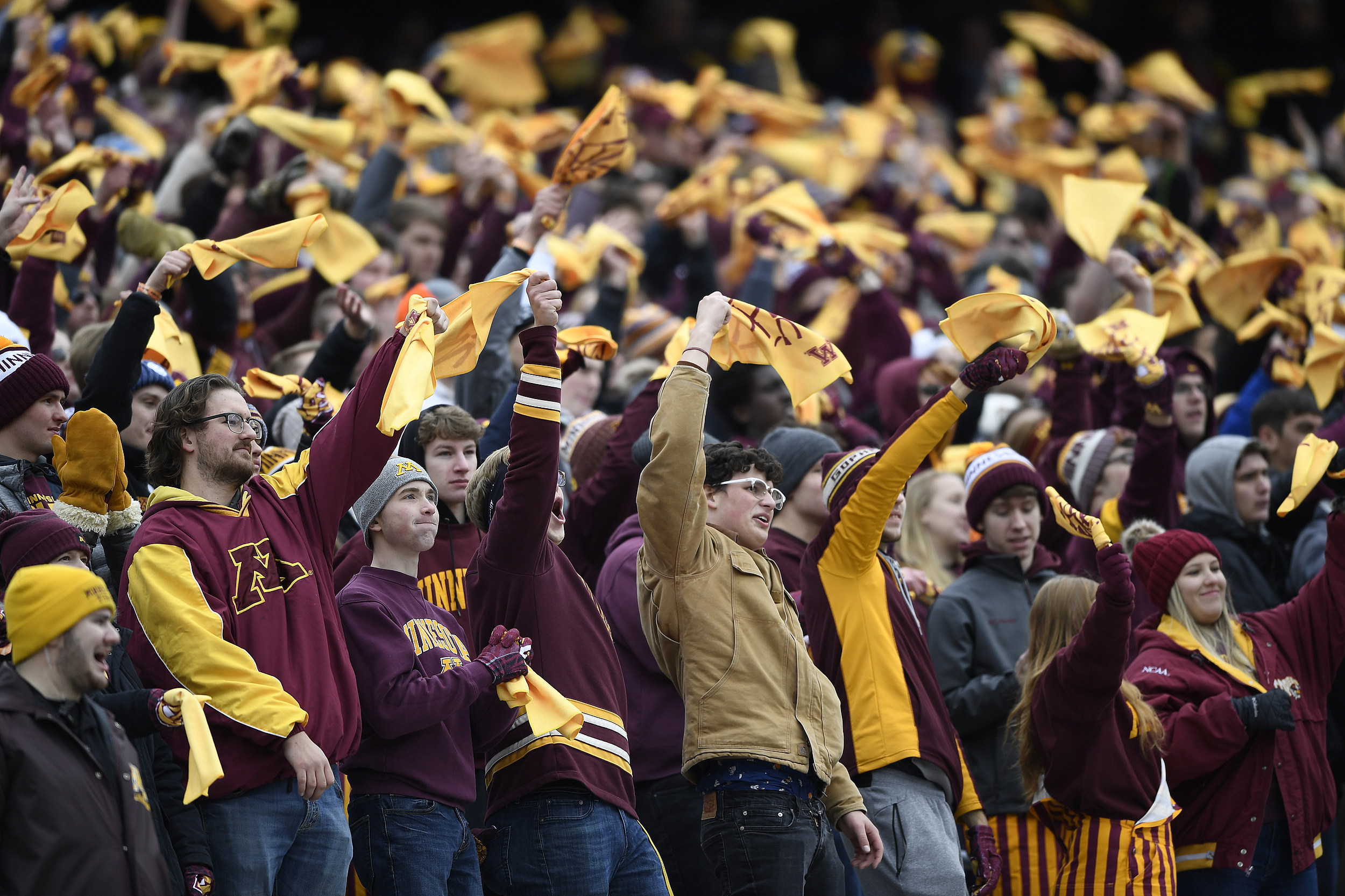 Gophers Keep on Rowing With Upset of Penn State; Iowa's Next